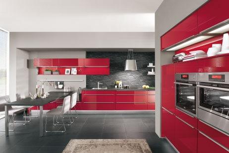 cocinas en móstoles roja