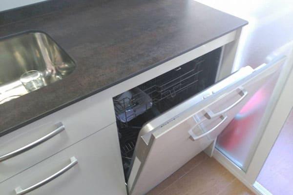 integrar los electrodomésticos en una cocina