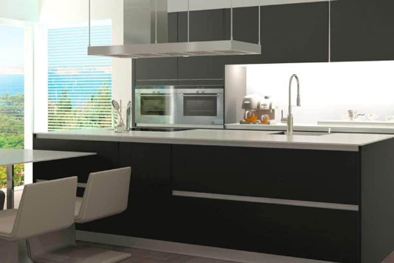 muebles de cocina hasta el techo